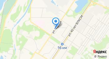 Отделение в Заводском районе Управления Федеральной Миграционной Службы РФ по Кемеровской области в г. Новокузнецке на карте
