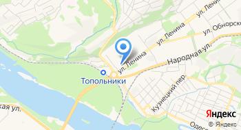 Торгово-монтажная компания Компасс-Кузбасс на карте