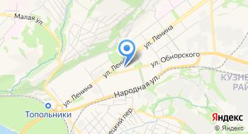 Новокузнецкий завод Пластмасс на карте