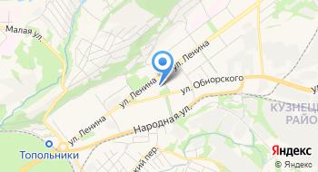 ЗАГС Кузнецкого района г. Новокузнецка на карте