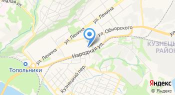 Новокузнецк-Дез-Сервис на карте