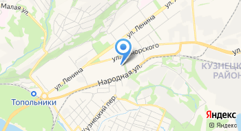 Кузнецкий Районный Суд на карте