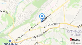 Филиал по Кузнецкому району г. Новокузнецка Фку Уи Гуфсин России по Кемеровской области на карте