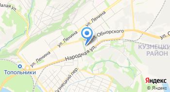 Провайдер Justconnect.ru на карте