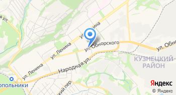 Прокуратура Кузнецкого района на карте