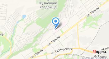 Новокузнецкий Клинический Противотуберкулезный Диспансер Туберкулезное легочное отделение № 2 для детей на карте