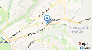 Кемеровский центр стандартизации, метрологии и сертификации, Новокузнецкий филиал на карте