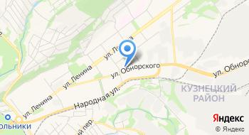 Охрана ФГУП МВД России по Кемеровской области Филиал на карте
