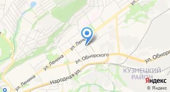 Скорая медицинская помощь, подстанция Кузнецкого района на карте