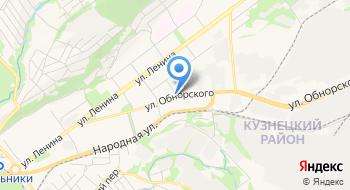 УФМС Отделение в Кузнецком районе на карте