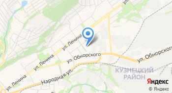 Приход Сибирской Евангелическо-Лютеранской Церкви на карте