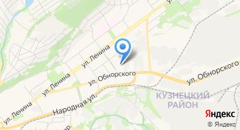 Профессиональный колледж города Новокузнецка на карте