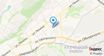 Новокузнецкий детский клинический психоневрологический санаторий Отдел №2 на карте