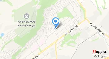 Новокузнецкий психоневрологический интернат на карте