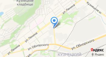 Новокузнецкие Микроавтобусы на карте