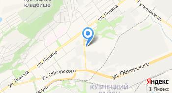 Кузнецкэнерго на карте