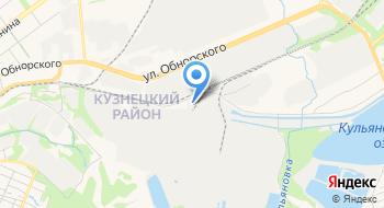Новокузнецкая ТЭЦ на карте
