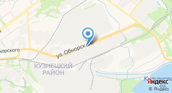 Кузнецкие ферросплавы на карте