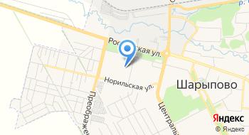 Шарыповская Средняя Общеобразовательная школа №3 на карте