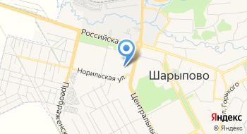 Томский Государственный Педагогический университет Представительство в г. Шарыпово на карте