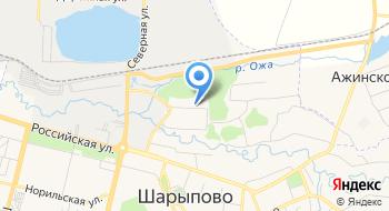 Реклама-Шарыпово на карте