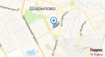 Полюс на карте