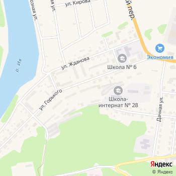 Почта с индексом 665265 на Яндекс.Картах