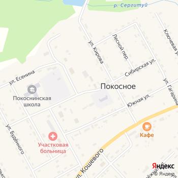 Почта с индексом 665740 на Яндекс.Картах
