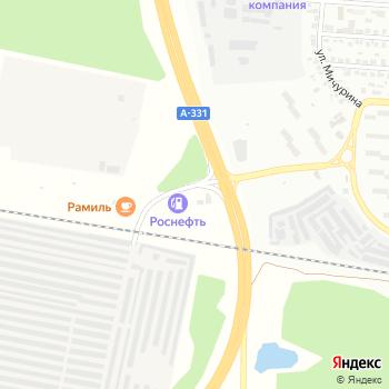 TON на Яндекс.Картах