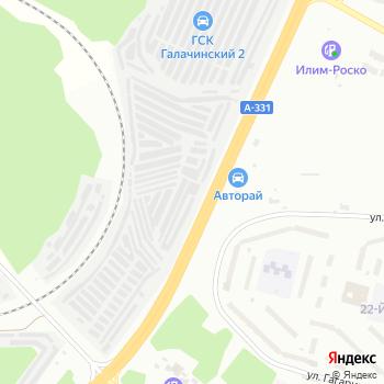 Автобан на Яндекс.Картах