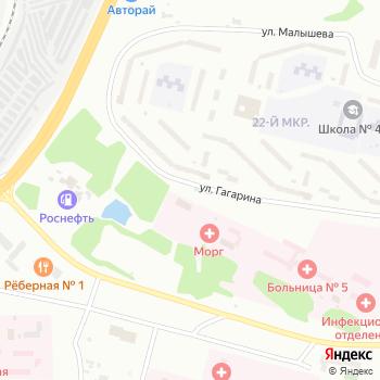Гагаринская на Яндекс.Картах