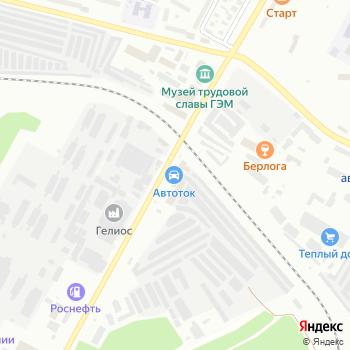 Автоателье на Яндекс.Картах