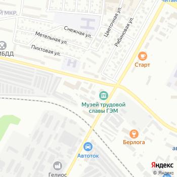 S*M на Яндекс.Картах