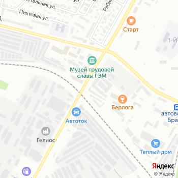 Станция дизельного обслуживания на Яндекс.Картах