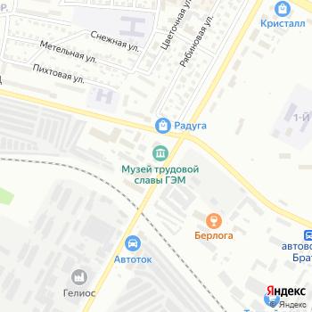 Музей Трудовой Славы Братского монтажного управления Гидроэлектромонтаж на Яндекс.Картах