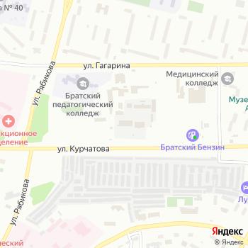 Братскводсистема на Яндекс.Картах