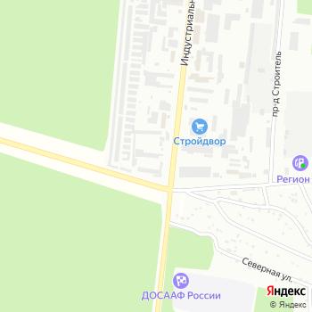 Азотно-кислородная станция на Яндекс.Картах