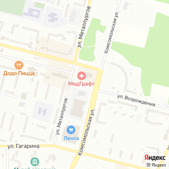 Острог на Яндекс.Картах