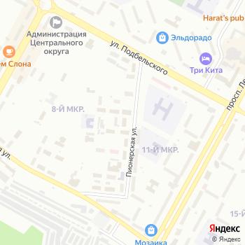 Янта на Яндекс.Картах