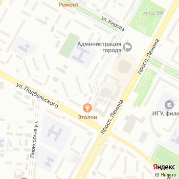 Галант на Яндекс.Картах