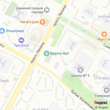 Братск-АРТ на Яндекс.Картах