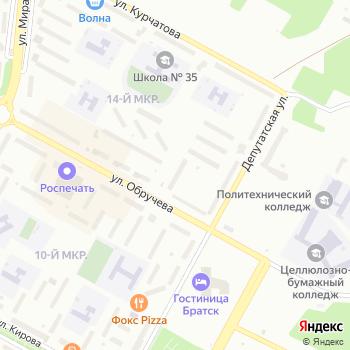 Микрон на Яндекс.Картах