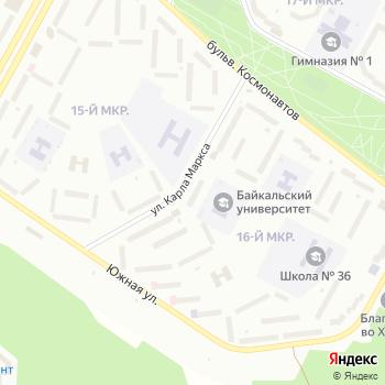 Ангара на Яндекс.Картах