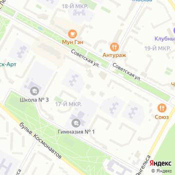 Zoom на Яндекс.Картах