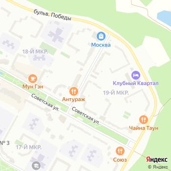 Махаон на Яндекс.Картах