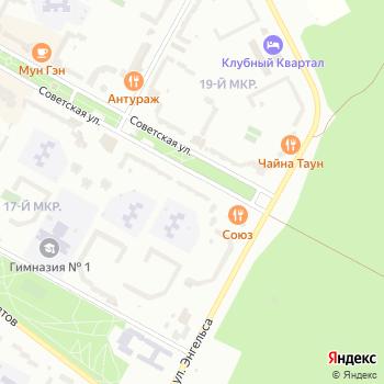 Галеника на Яндекс.Картах