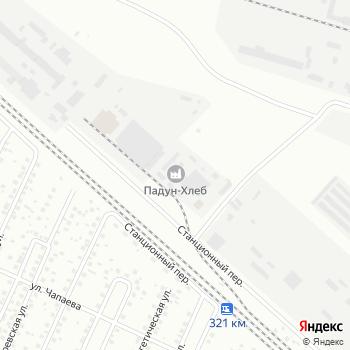 Падун-Хлеб на Яндекс.Картах