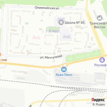 Аякс на Яндекс.Картах