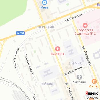 Ткани на Яндекс.Картах