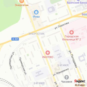 Купидон на Яндекс.Картах